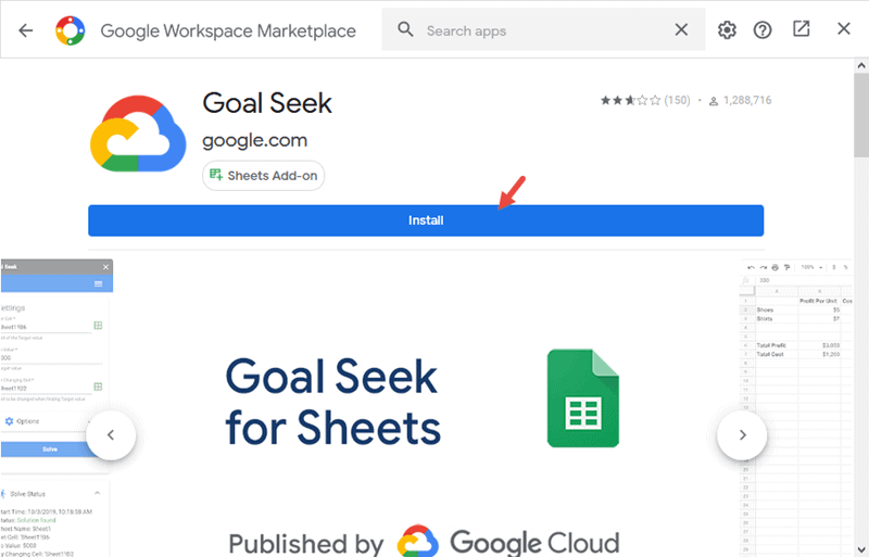 Install the Add-on to Google Sheets