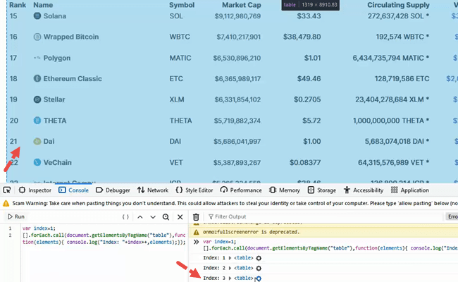 How to use the IMPORTHTML Function to Import a Table from a Webpage