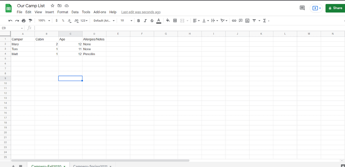 How to Copy Row to Another Sheet in Google Sheets
